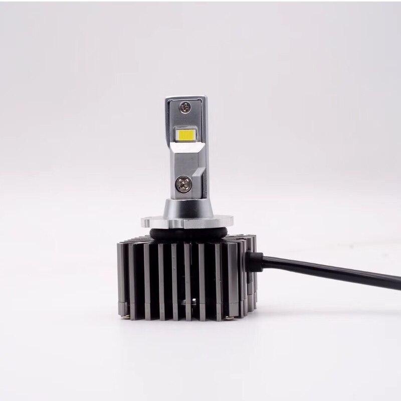 Non-destructive installation Error Free canbus D1S D1R D3S D3R D2S D2R D4S D4R D5S D8S LED Car headlight bulbs 100W For all cars