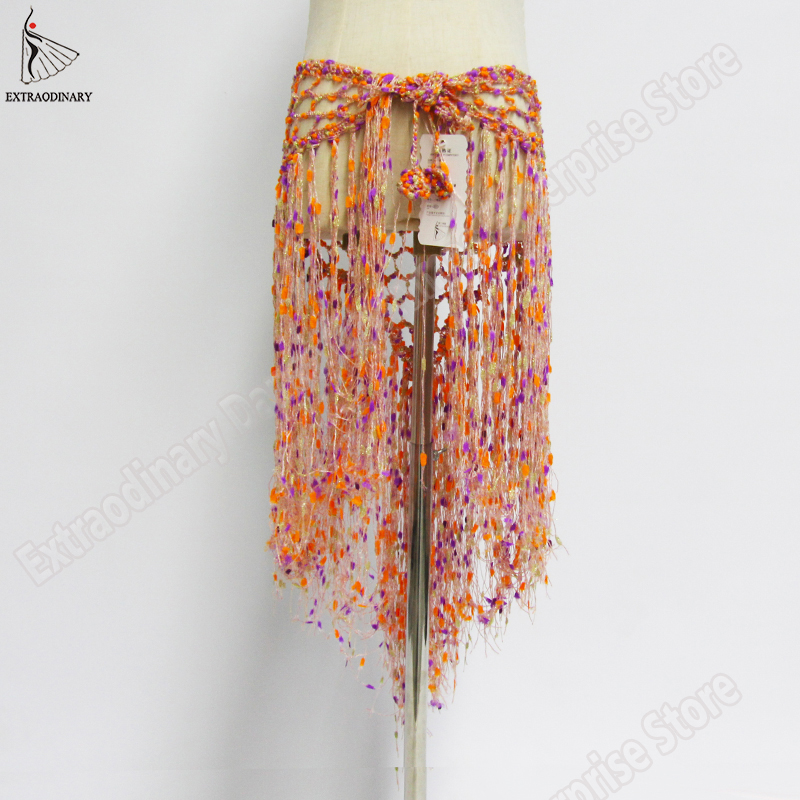 New Belts Belly Dance Triangle Wrap Costume Tassel Bellydance Scarf Hip Accessories Women Style Shawl Fringe Scarf Sexy