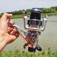 Hoge Kwaliteit 11+ 1 BB Dubbele Spool Vissen Reel 5.5: 1 Overbrengingsverhouding High Speed Spinning Reel Karper Vissen Rollen|Fishing Reels|   -