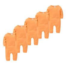 Пижамный комплект унисекс с длинными рукавами для новорожденных