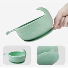 Чаша взрывоустойчивый детей детские нескользящие детские пищевой силикон тренировка детское питание чаша 3 цвета, чтобы выбрать блюда