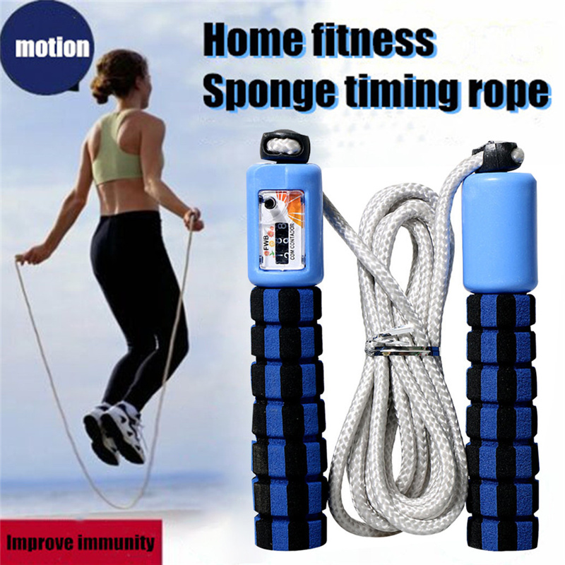 Freeby Fitness Skipping Rope Portable Durable Calorie Consumption Easy Adjust Advanced Skipping Rope