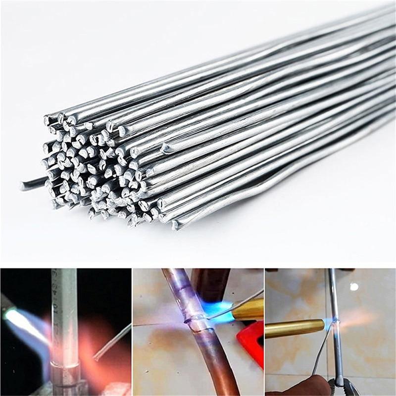 Низкая Температура легко Алюминий электроды для сварки баров порошковая проволока 2 мм стержень припоя для пайки Алюминий нет необходимост...