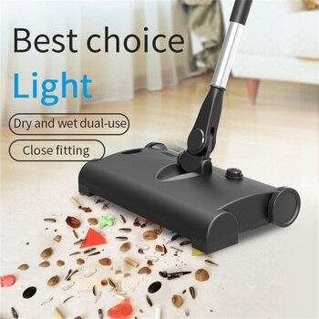Electric Floor Sweeper Cleaner Vacuum Rechargeable Wireless Hand Push Vacuum Cleaner Household Electric Mop Broom Robot 1