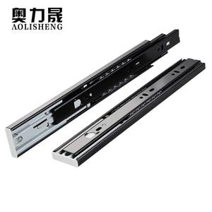 Push-on drawer slides runner(China)