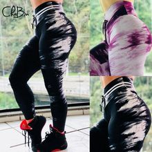 New 2019 Women Hot Yoga Pants Printing Sport Leggings Push Up Tights Gym Exercise High Waist Fitness Running Athletic Trousers hot women bubble push up hip yoga pants sexy high elastic sport leggings tights gym exercise high waist fitness running trousers