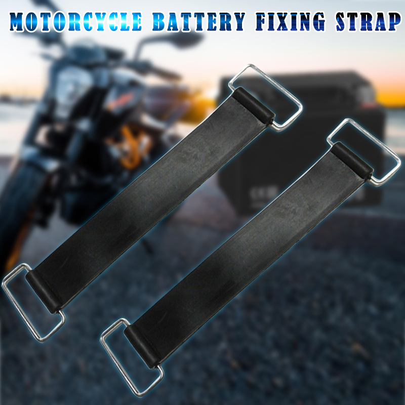 Battery Rubber Band Strap Fixed Holder Elastic Bandage Belt Stretchable For Motorcycle B99