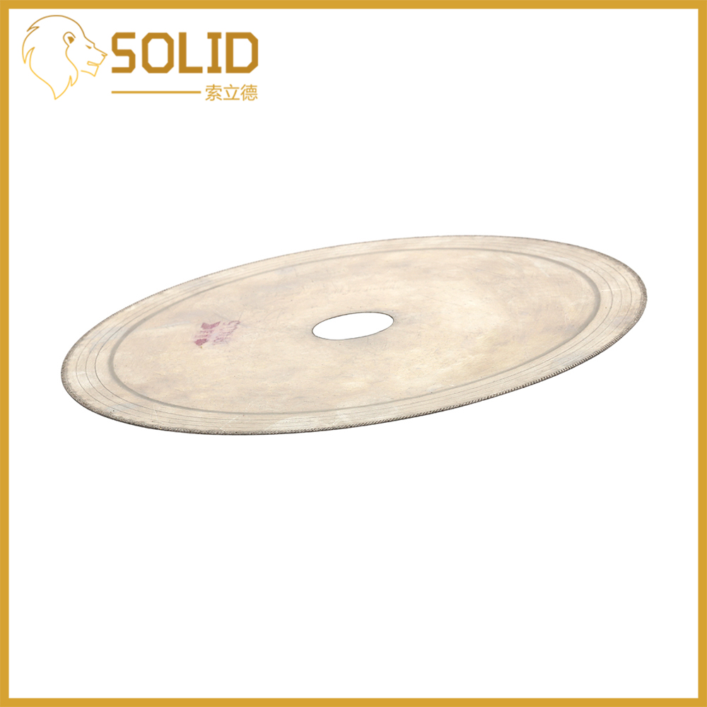 Thin Diamond Saw Blade 110/150/180/200mm Thin Cutting Disc Jewelry For Glass Amber Crystal Gemstone 20/25mm Bore