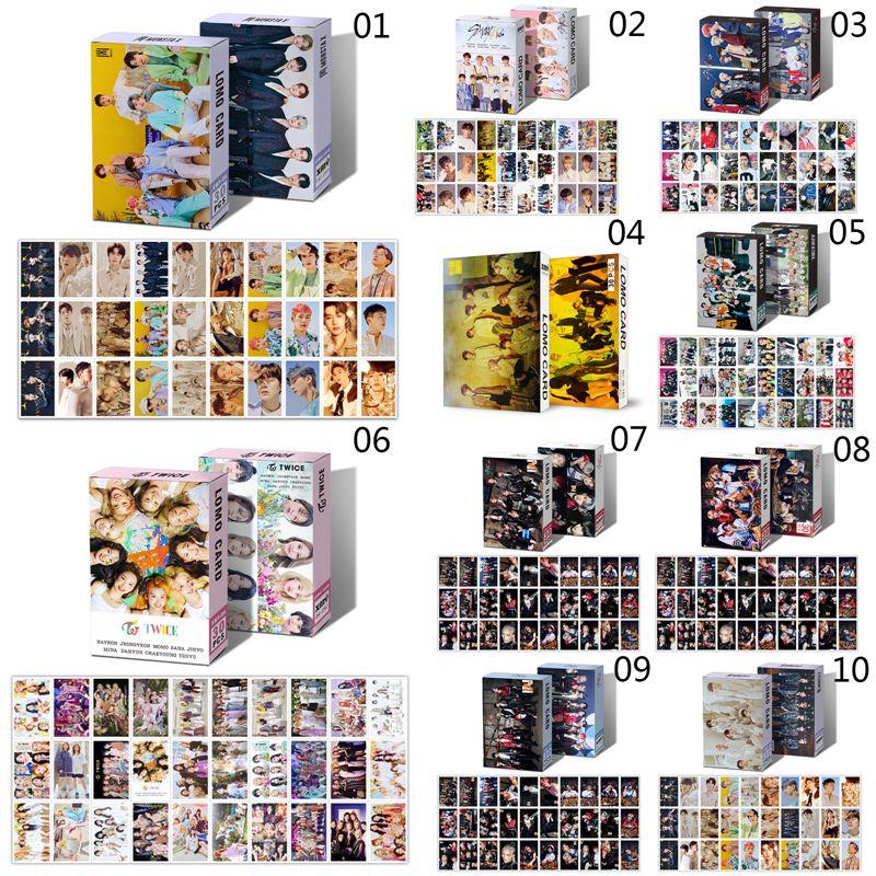 30 шт./компл. Kpop защищает Детские NCT дважды монста X ЛОМО карта Альбом Плакат HD Фотокарта для любителей коллекция подарков