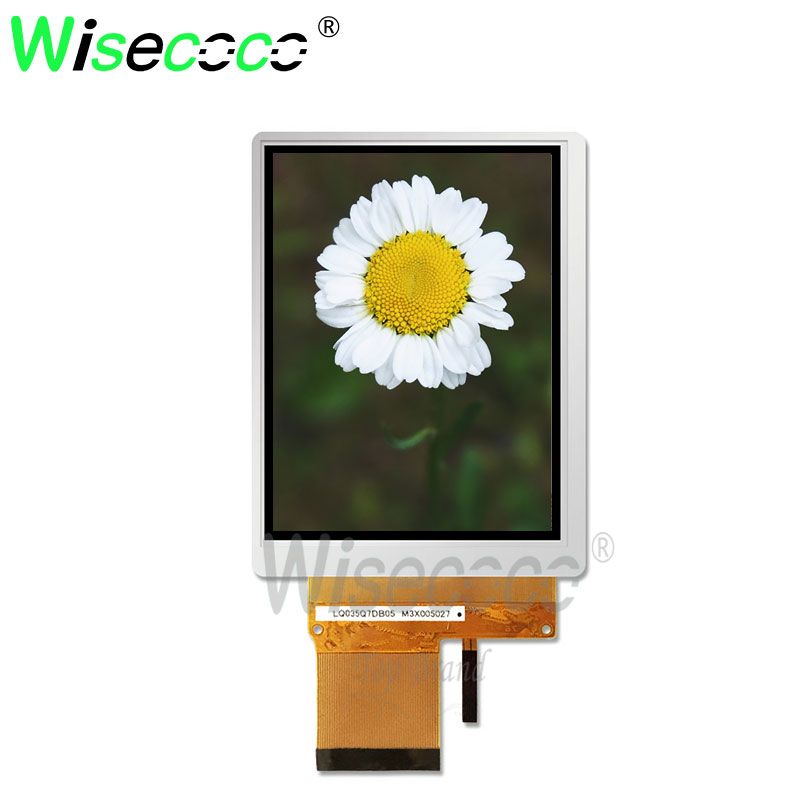brand new original display 3.5 inch screen 240x320 160 brightness <font><b>lcd</b></font> <font><b>50</b></font> <font><b>pins</b></font> image