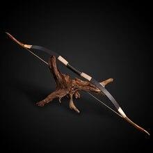 Длинный охотничий лук Рекурсивный традиционный деревянный для