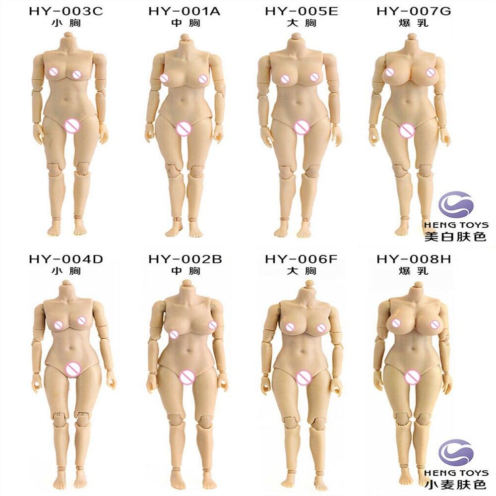 Хэн игрушки 1/12 весы половина-инкапсулированный совместных женского тела Рисунок для 6 дюймов действий цифра куклы