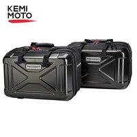 KEMiMOTO Motorcycle Saddle Box For MT07 MT09 For KAWASAKI For KTM DUKE Adventure Universal Luggage Bag Box Tail Box For Z650