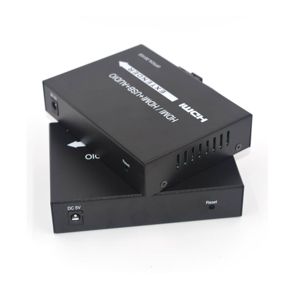 Image 5 - High Quality HDMI Extender, HDMI over Fiber optic media converters with KVM USB2.0 and loop out,HD 1080p HDMI over Fiber up 20Km-in Fiber Optic Equipments from Cellphones & Telecommunications