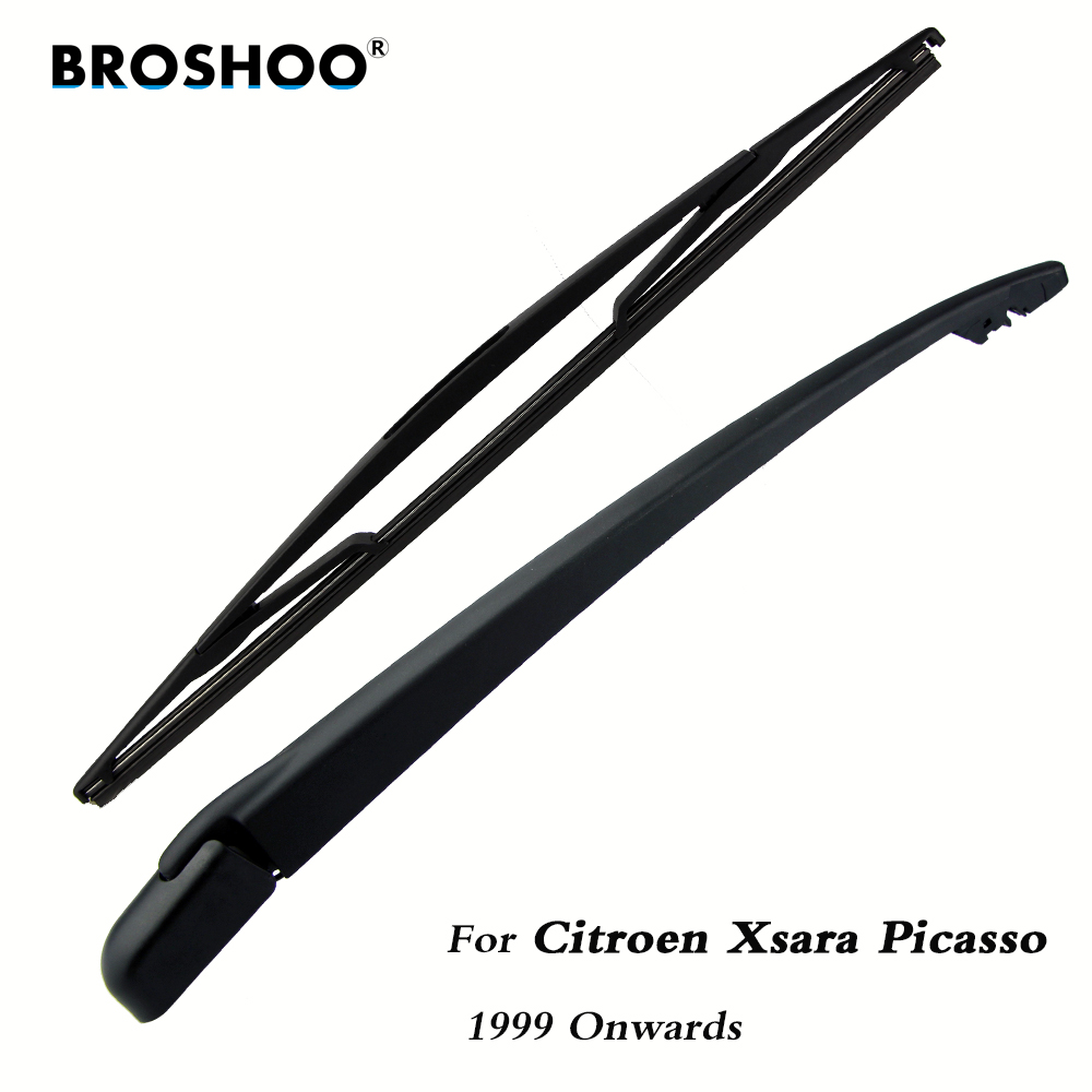 Braço traseiro do limpador do pára-brisas das lâminas de limpador do carro de brosho para citroen xsara picasso (1999-) 410mm, estilo do automóvel do pára-brisa