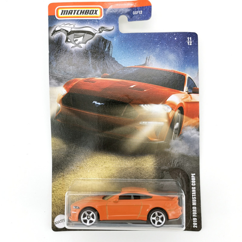 2020 Matchbox 1/64 Car 2019 FORD MUSTANG COUPE  Collection Metal Diecast Alloy Model Car Kids Toys Gift