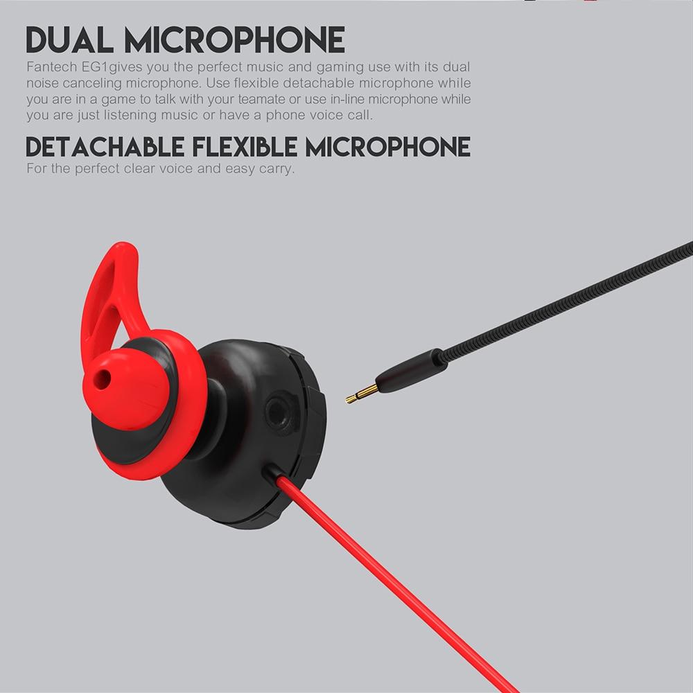 Fantech EG1 In-Ear Gaming Earphone 13