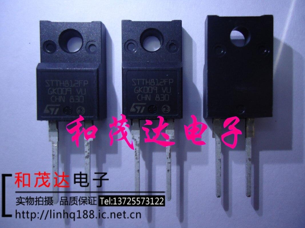 1 шт., новые оригинальные кнопки STTH812FP TO-220F-2 1200V 8A в наличии на складе