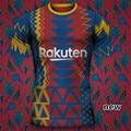 Новый 2021 2022 OUTINHO BarcelonaES рубашка суаресом трикотажного полотна. DEMBELE ANSU FATI GRIEZMANN Месси де Йонга Новая мужская рубашка высшего качества