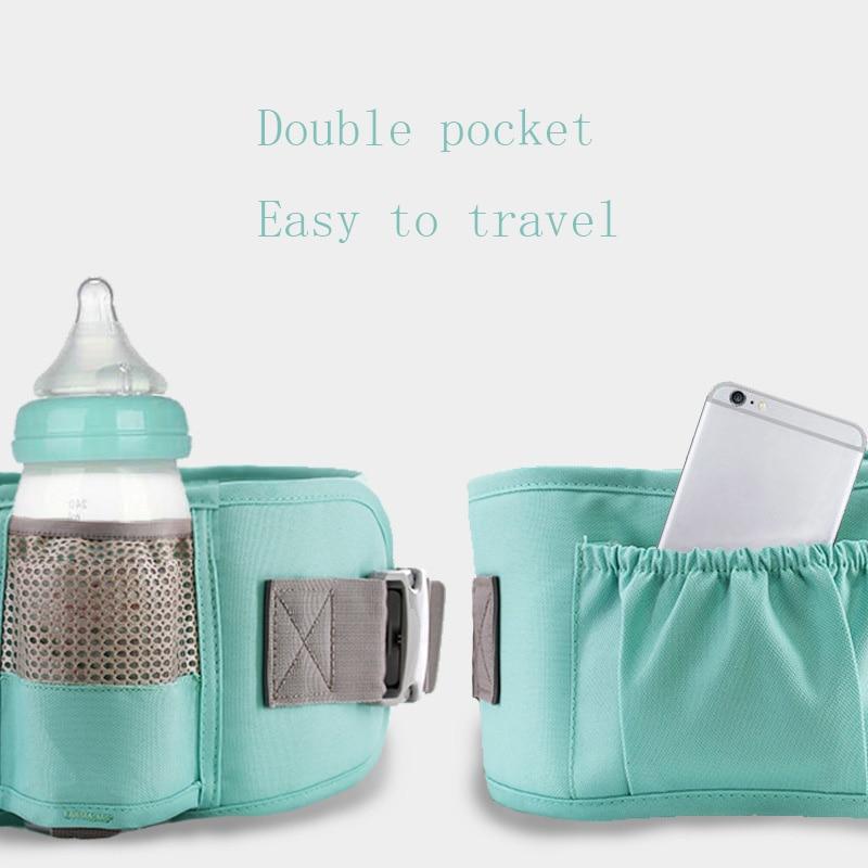 Ergonomic Baby Carrier Waist Stool Walkers Baby Sling Hold Waist Belt Backpack Hip seat Belt Kids Infant Waist Seat