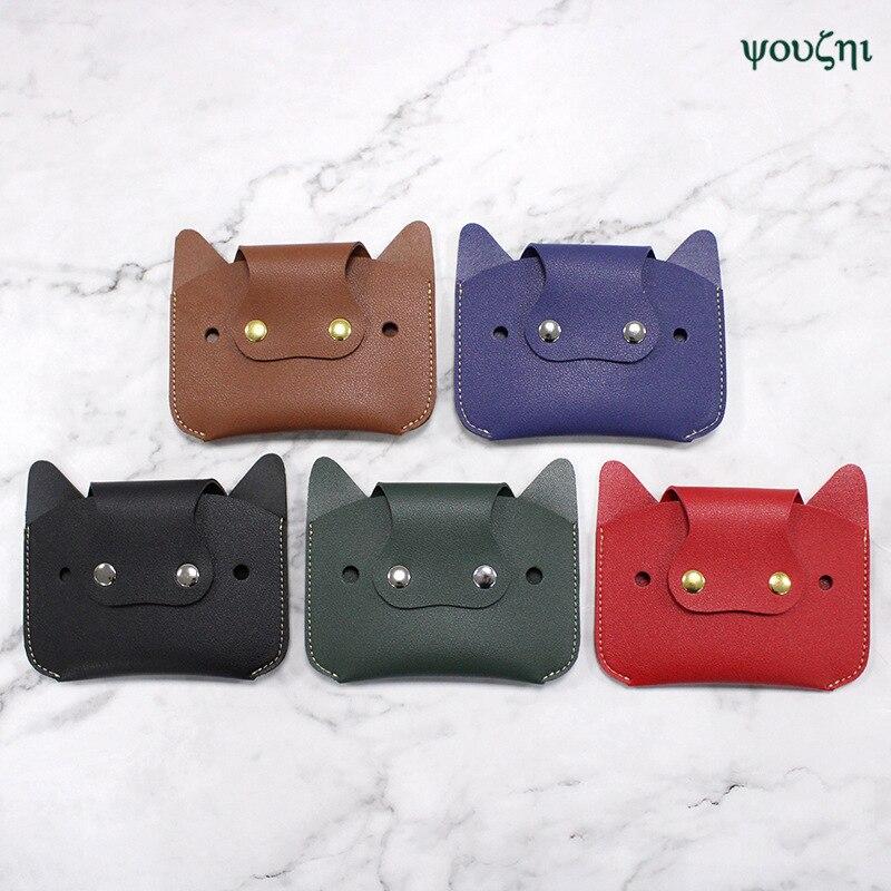 Leather Purse Korean-style Cartoon Wallet Creative Mini Portable Purse Earphone Bag