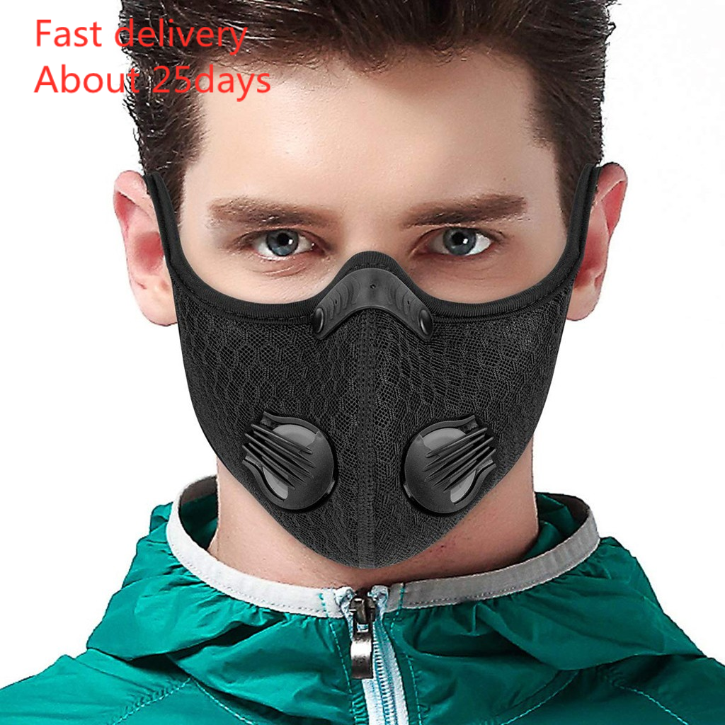 Mask Mascarilla Maska Activated Carbon Pm2.5 Outdoor Mouth Mask Unisex Face Mask Protection Mask Маски