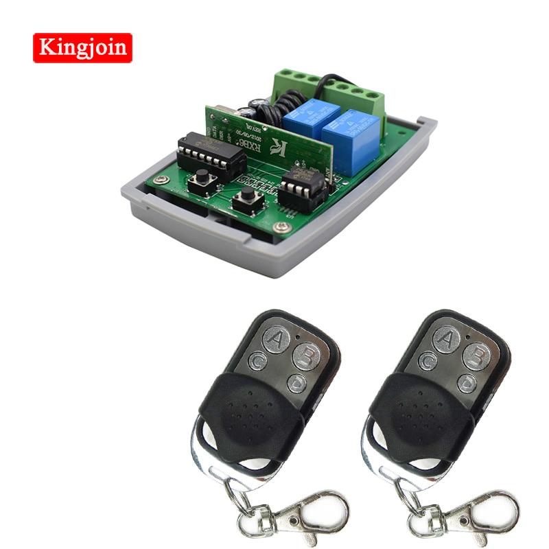 KINGJOIN BFT MITTO B2 B 2 Universal Remote Control Gate Garage Door Key Fob 433,92 MHz RCB02 R1 D111904