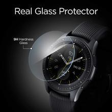 2 sztuk dla Samsung Galaxy Watch 42mm 46mm szkło hartowane Screen Protector folia ochronna straży anty wybuchu Anti-shatter cheap ARMED Łatwy w Instalacji TEMPERED GLASS for watch 42mm 46mm