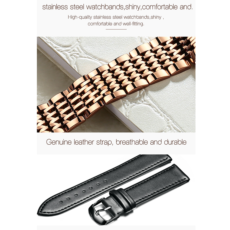 2019 Montre Femme OLEVS женские часы Роскошные модные кварцевые минималистичные водонепроницаемые черные керамические часы Relogio Masculino - 6