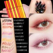 Xixi fosco lápis delineador colorido projetado amarelo branco rosa rosa azul pigmento longa duração à prova dacágua gel delineador ac209