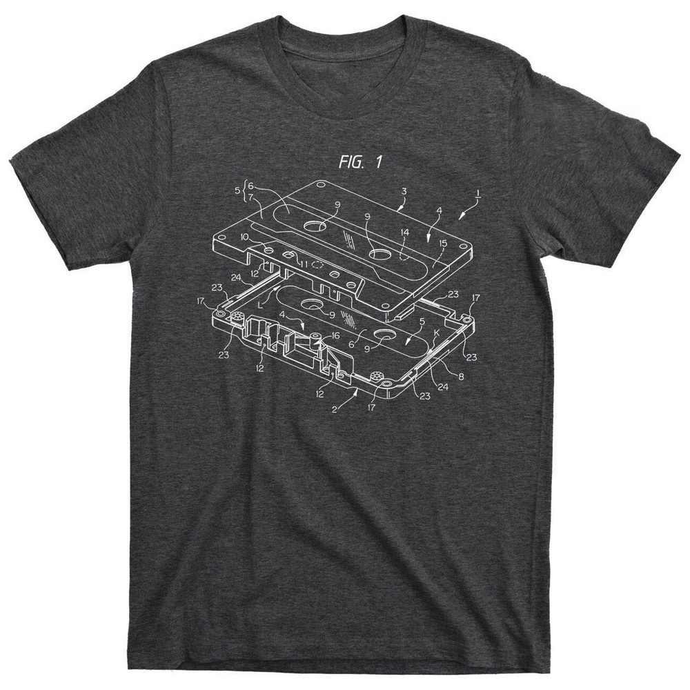 オールドスクールヒップホップ Tbt ブレークダンスソニーウォークマンカセットプレーヤーラジオ Tシャツ綿原宿の男性トップス Tシャツ