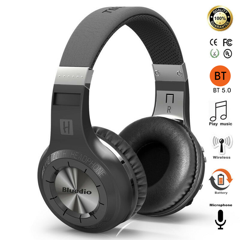 Bluedio Wireless Headset Gamer Bluetooth Headphone Over-Ear DSP Intelligent Noise Cancelling Stereo Headset Heavy Bass