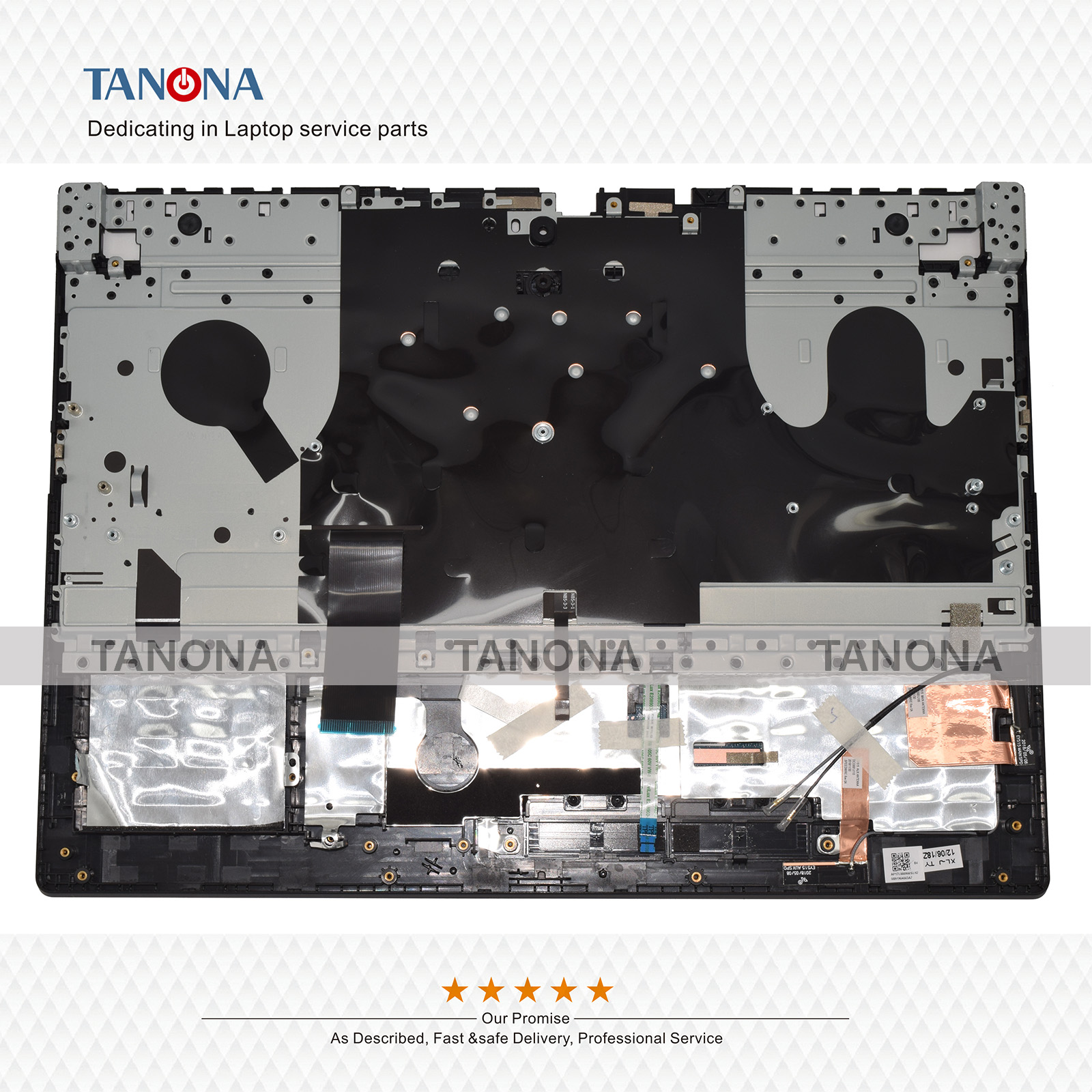 NEW for Lenovo Legion Y530 Y7000 Palmres Upper Case KB Bezel Bottom Case Cover