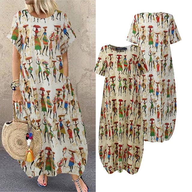 comfy swing summer dress 4