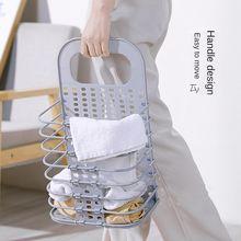 Корзина для белья без перфорации настенная корзина хранения