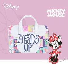 Disney Mickey sacoche pour ordinateur portable étui pour Macbook Air Pro 13 14 15.6 housse pour ordinateur portable étanche sac pour ordinateur portable Dell Acer Asus HP sac à main