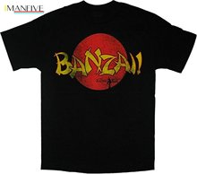 цена на 2019 New Brand High Quality for Man Better Karate Kid Banzai Washed Black T-Shirt Tee Short Sleeve Tee Shirts