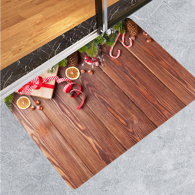 Home Decor Wood Floor Pattern Non Slip