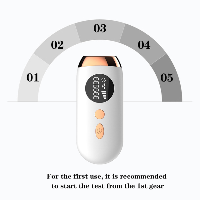 Лазерный эпилятор Fieezoe IPL Hair Removal A01