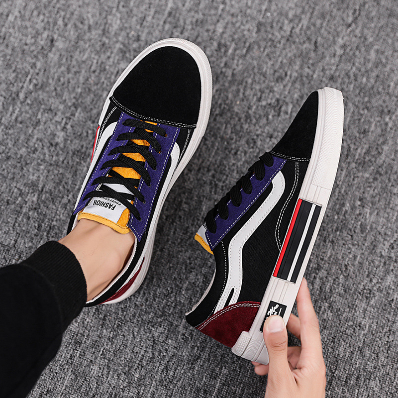 Newest Men Shoes Vulcanized Unisex Casual Sneakers Fashion Light Breathable Colorful Canvas Flat Sports Shoes