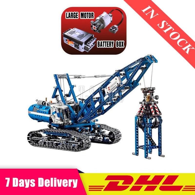 DHL 20010 Technic Mechanical The Crawling Crane Set Building Blocks Bricks Educational Toys Gifts Compatible  42042