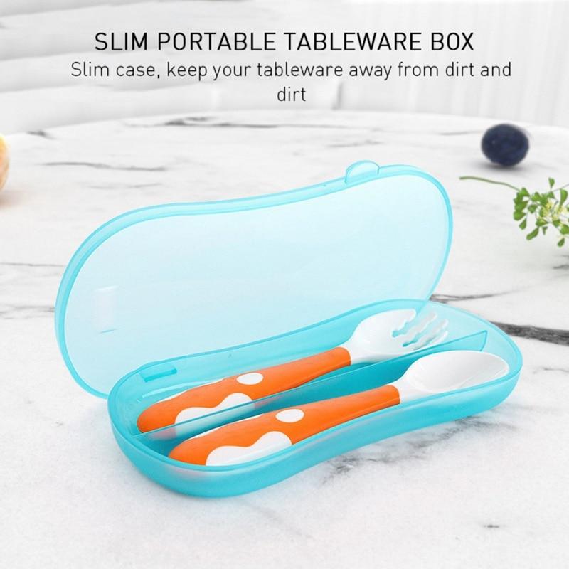 High Quality Kitchen Students Household Utensils Dinnerware Bag Dinner Set Ableware Box Portable Flip Cover Type Cutlery Case