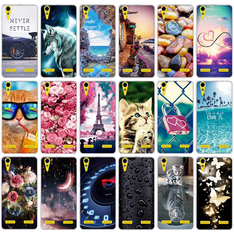 """For Lenovo A6010 & A6000 & for Lenovo Lemon K3 K30-T Cover Skin 5"""" K 3 A 6000 6010 a6010 Soft Silicon Case Printed Phone Cover(China)"""
