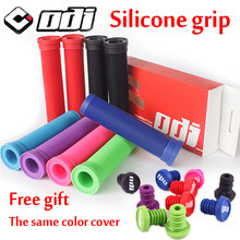 ODI Grips Silicone Mtb handle bar grip Anti-Slip Shock-absorbing bicycle Grip For Balance bmx grips Free shipping Bike Parts