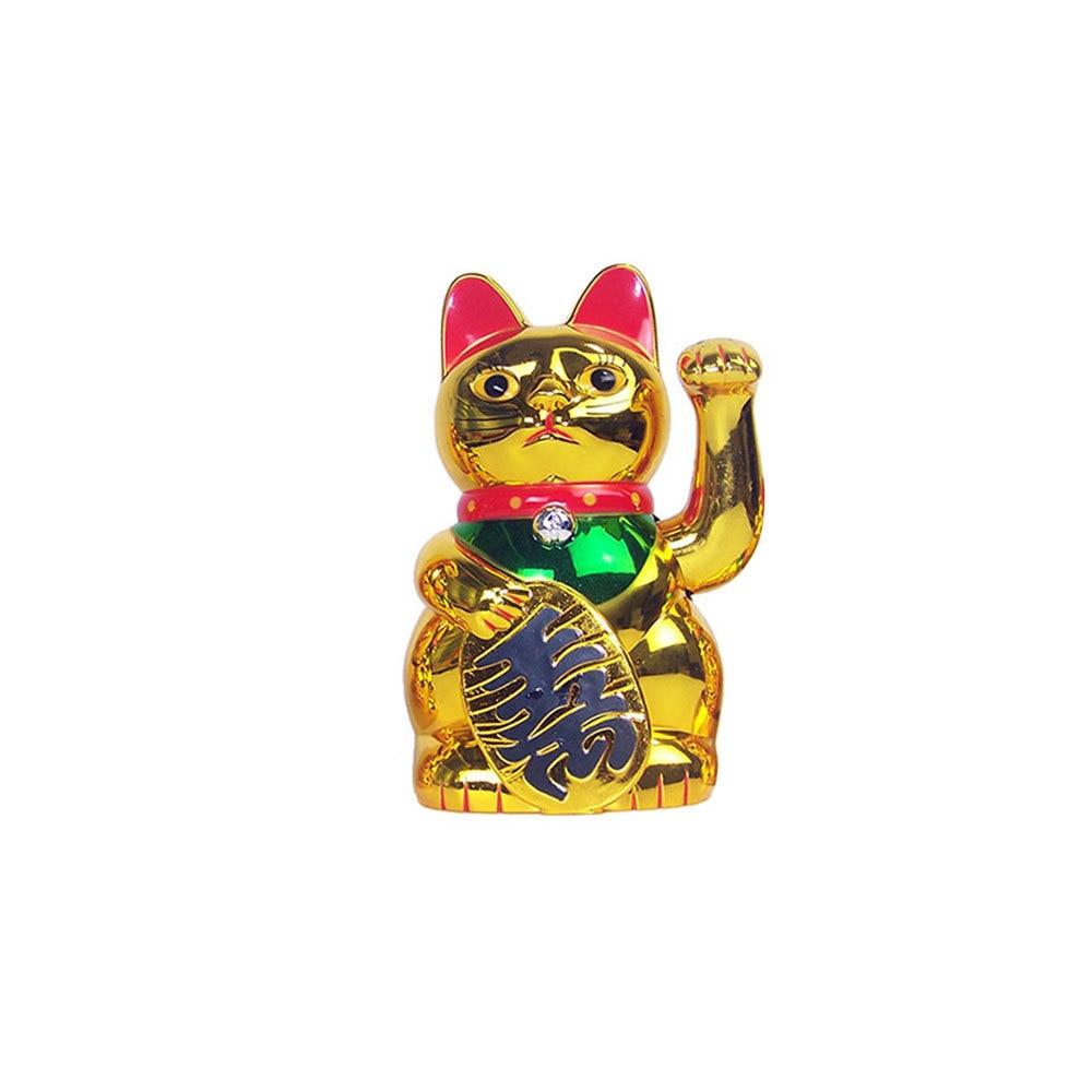 Cina Beruntung Kucing Kekayaan Melambaikan Tangan Cat Gold Maneki Neko Lucu Rumah Fengshui Dekorasi Selamat Datang Kucing Kerajinan Seni Toko Hotel Dekorasi Patung Patung Miniatur Aliexpress