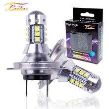 2pcs High Power LED XBD Chip H7 LED Lamps For Cars Headlight Bulbs H4 led H7 H1 H3 H11 Fog Light