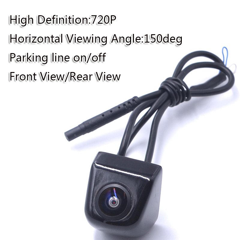 Super Full High Definition Car Rear View 150deg Horizontal Wide Viewing Angle