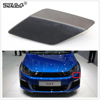 Left Side For VW Golf A6 MK6 R20 2013 2014 2015 2016 Car-styling Front Bumper Headlight Washer Cover Cap 5G0955109G image
