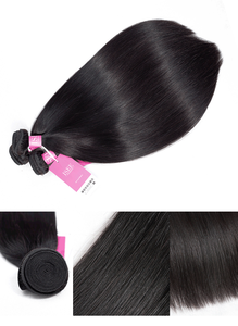 Image 4 - Peruvian Straight Hair Extensions Human Hair Bundles No Tangle Nature Color Can Buy 1/3/4 Bundles Remy ISEE Human Hair Bundles