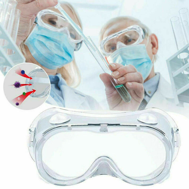 Safety Lab Glasses Protective Eyewear Plastic Virus Medical Goggles Chemical Industrial Eyewear